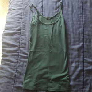 LAmade forest green cami